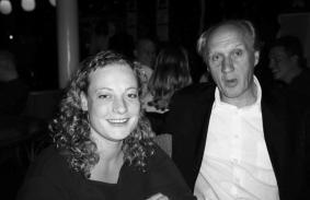 Met Herman van Veen in Kunstmin in Dordrecht